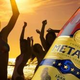 Saulainā disko ballīte kopā ar Metaxa